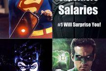 Superheroes/ villains  / by Jonathan Lira