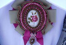 brooch, Viktorian necklaces