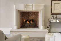 Reproduction Fireplaces / Reproduction Limestone Fireplaces
