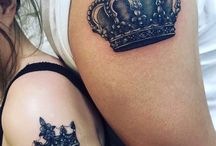 Tatuajes Rey y Reina