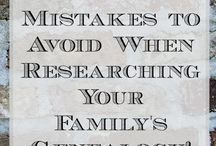 Genealogy Research / A collection of tools, tips, and inspirational graphics to keep me moving forward in my quest to document my roots.