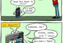 Pół żartem, pół serio / Garść żartów rysunkowych z sieci na temat konsumpcjonizmu i nie tylko....