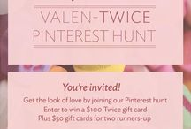 Valen-Twice Day 2015 / www.liketwice.com inspiration