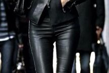 Casual Leather Outfit