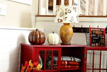 Fall decorating / by Stacie Frazier