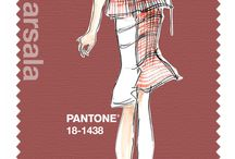 Marsala Pantone Color of the Year 2015 / A collection of the Color of the Year.