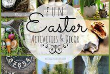 Easter -> he's risen