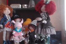 Куклы ручной работы.