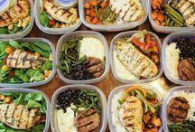 meal prepping / by Nancy O'Brien