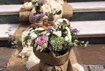 Γαμήλια διακόσμηση / Κηπουρική