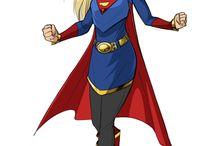 Superhéroes jean