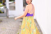 Looks pro calor / Ideias de looks pra inspirar todo mundo a ser mais feliz e colorido no calorão <3