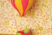 Felt Air Balloons ~ Αερόστατα από Τσόχα