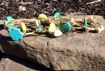 B L O N D E & B A N G L E D / handmade in fredericksburg, va  / by Nikki Reeves