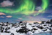 Aurore boreale laponie