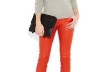 Peça-chave | calças coloridas