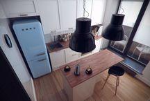 58m² 1-bedroom apartment / Scandinavian style / AutoCAD / 3ds MAX