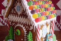 Gingerbread houses / by Erica Esta