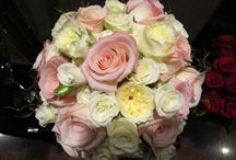 Pink Theme / Bridal bouquet and floral decoration in pink
