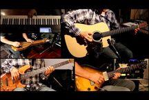 David Gilmour / Video del grande chitarrista