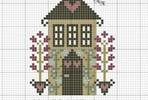 HOME SWEET HOME CROSS STICH PATTERNS