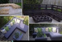 DIY- Crate and Furniature Projects / by April T