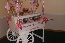 Candy Cart / Our candy cart YOUR candy cart for the day..... How Would you decorate yours?