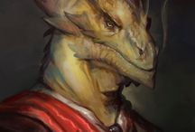 Dragonborn, Dragon-blooded and Half Dragons