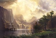 Paintings: Light & Landscape / Landscape paintings, art schools like the Hudson River School, mostly 19th century