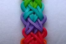 Loom bands / Loom band charms and bracelets