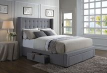 Wing Back Storage Bed