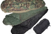 Sleeping bags, Liners and mats