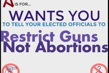 #RestrictGunsNotAbortions