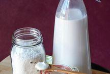 Coconut flour and milk
