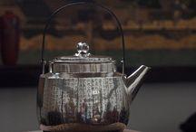 Ginbin / Japanese silver kettle