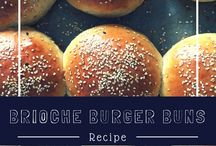 Burger Time / Recipes for Burgers, Fries, Burger Buns, Pickles & Burger Sauces