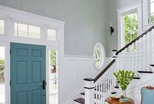 Making an Entrance / {Foyer, entryways, vestibules, front doors.} Tips, ideas, and tricks to making an entrance.