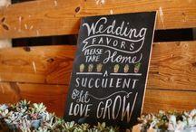 Wedding Ideas / by Dizzy Bird Pottery Canada