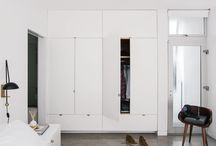 Apartment - bedroom builtins / by Philippa Crampton