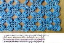 puntos y tecnicas en crochet/ stitches / by Sandra DLB