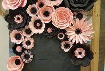Большые цветы