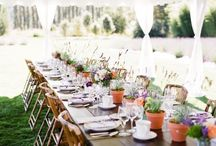 Unique Backyard Parties / Inspiring and stylish backyard events.