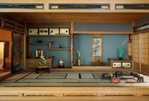 Podium for rest / japanese style, palettes etc.