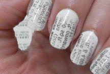 Newspaper nails / Cool