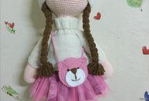 hačkované panenky