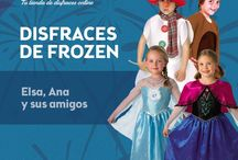 Disfraces de Frozen / ¿Os gusta Frozen? ¡Pues se acaba de confirmar la segunda parte! Además, también van a estrenar en cines un corto con los protagonistas... ¡y a nosotros nos encanta! Por eso, os dejamos estos disfrazzes ambientados en la película en www.disfrazzes.com