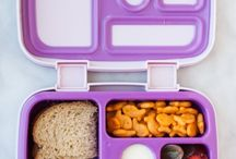 lunch boxes and gardning tools