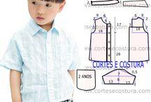 camisa infantil se 2 a 6 anos