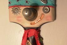 marionnette récup