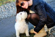 My dog, my sweet love! / My dogs, beautiful and sweet...